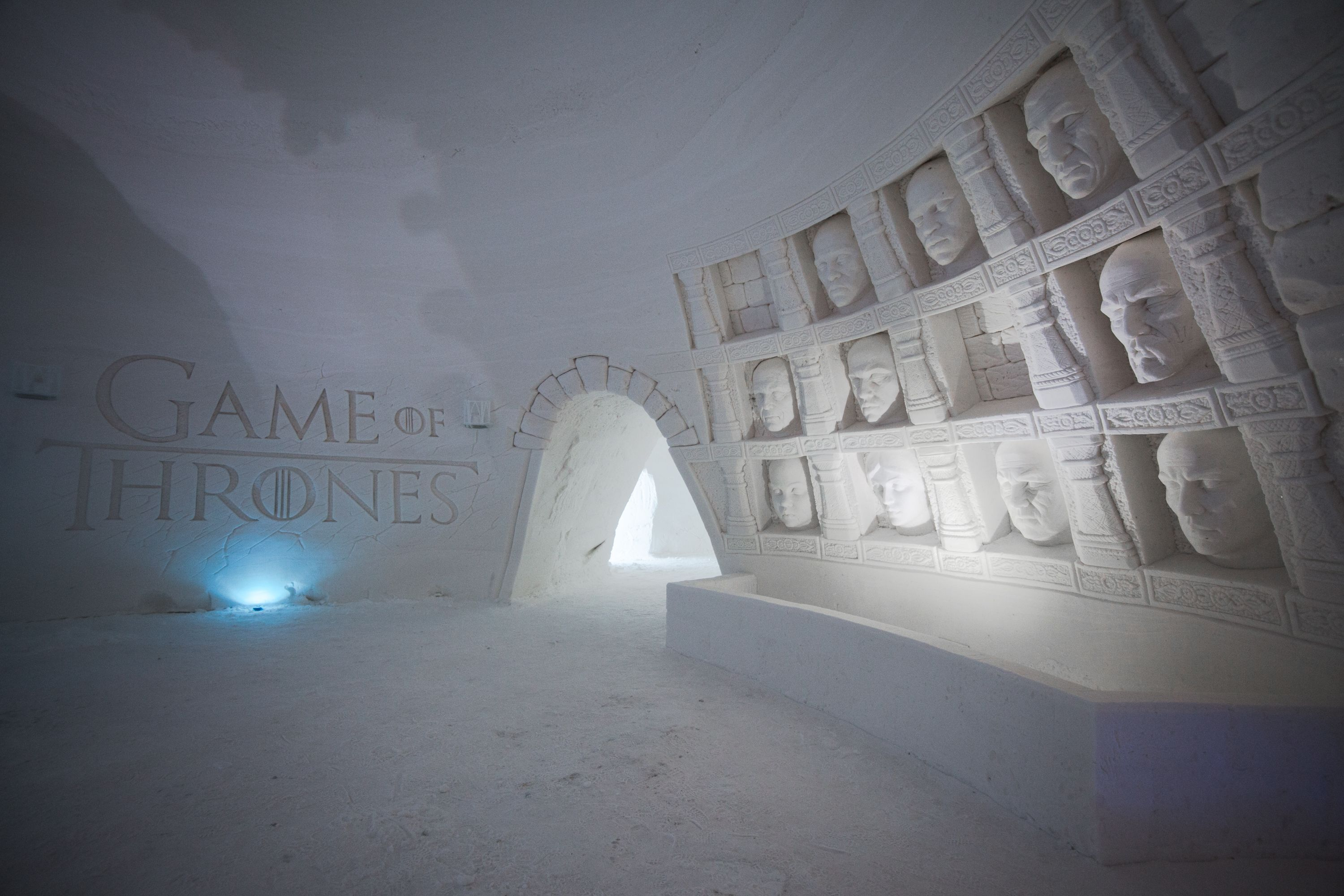 Lainio Snow Village (Eishotel) heuer im Game of Thrones Stil!